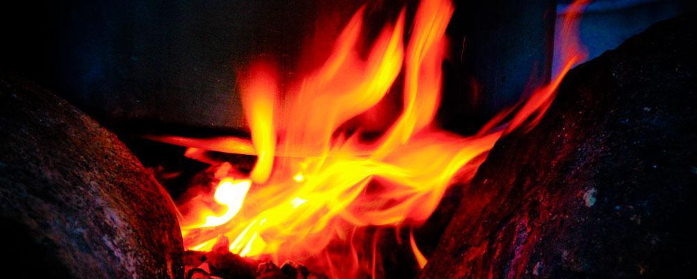 Feuer im Feuerkreis