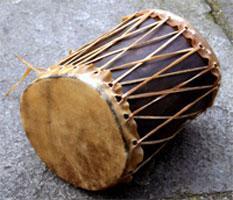 indianische trommel